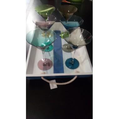 Set 6 calici Martini Home
