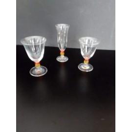 Set 6 pezzi calici acqua, vino o flutes - Onlylux